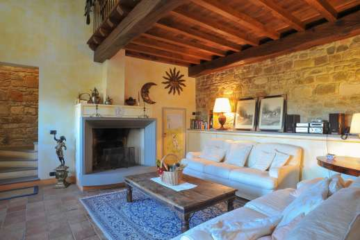 Villa Altea (x 8 people) with Staff and Cook - Air conditioned comfy sitting room