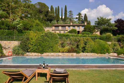 Villa Altea (x 8 people) with Staff and Cook - The villa is surrounded by a beautiful garden leading down to the private swimming pool