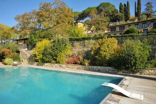 Villa Altea (x 8 people) with Staff and Cook - The private 7x14m/22x45 feet swimming pool.