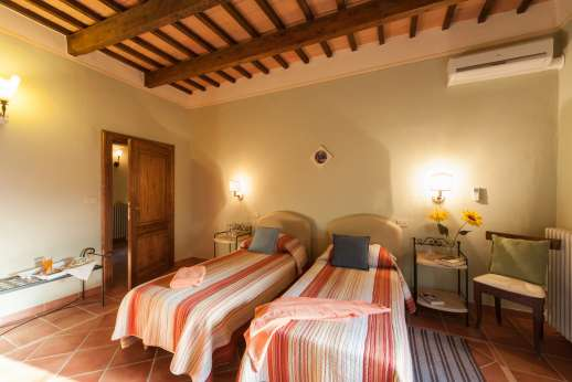 Villa Astori - Another of the air conditioned twin bedrooms of which all can be converted into doubles.