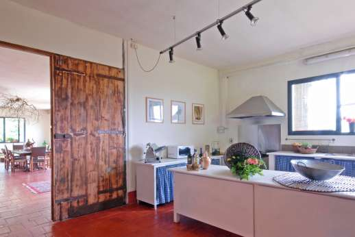 Villa Atena - The kitchen area in the Forestry.