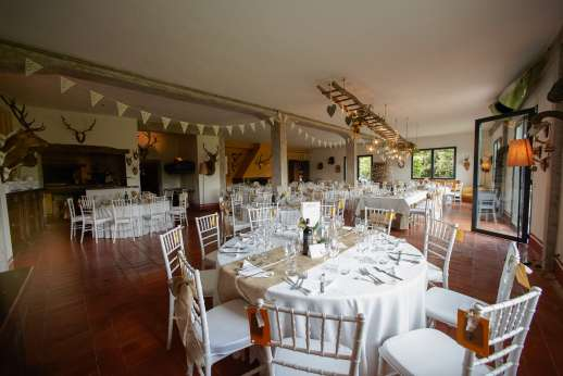 Weddings at Villa Atena - The forestry can be set out a number of different ways