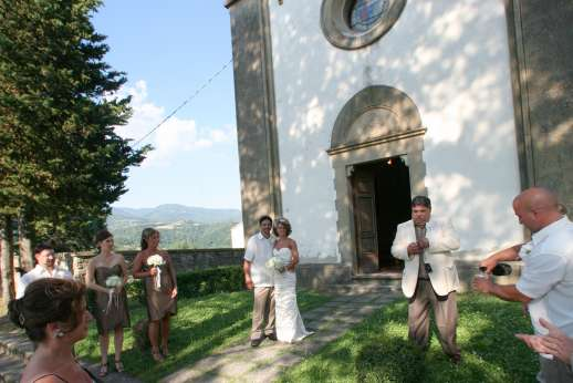 Weddings at Villa Atena - Get married at the Chapel that is walking distance to the villa.