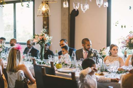 Weddings at Villa Atena - Take the wedding breakfast out doors or in the forestry