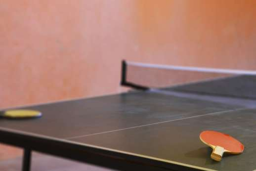 Villa Bracciano - Ping pong table.
