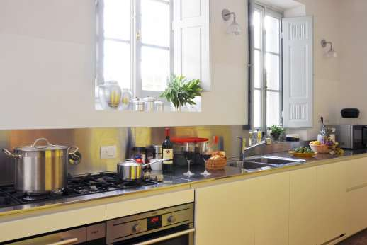 Villa Caprolo - The modern appliances