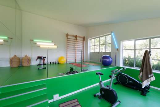 Villa Caprolo - A very well equipped personal gym