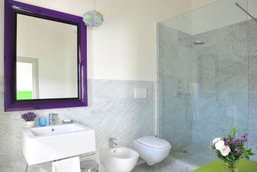 Villa Caprolo - All bedrooms are with en suite bathrooms and are geo thermal air conditioning.