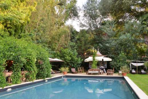Villa De Lanfranchi - The private 8x16m/26x51 feet swimming pool.