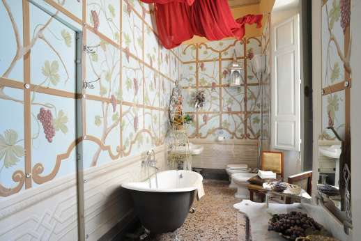 Villa De Lanfranchi - En suite bathroom.