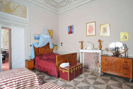 Villa De Lanfranchi - A double bedroom.