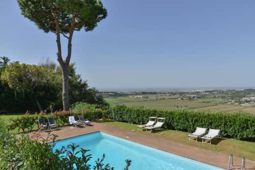 Villa delle Lance -  The private swimming pool, 12 x 6m/39 x 20 feet.