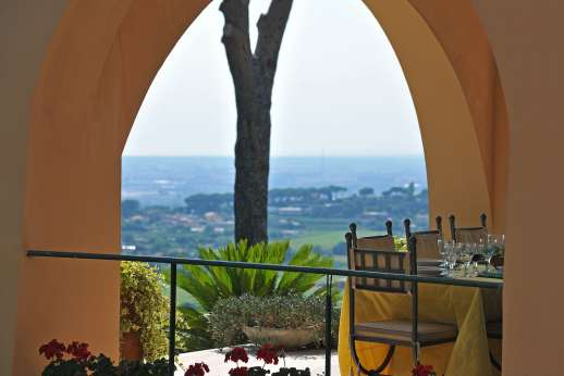 Villa delle Lance - Views form the loggia.