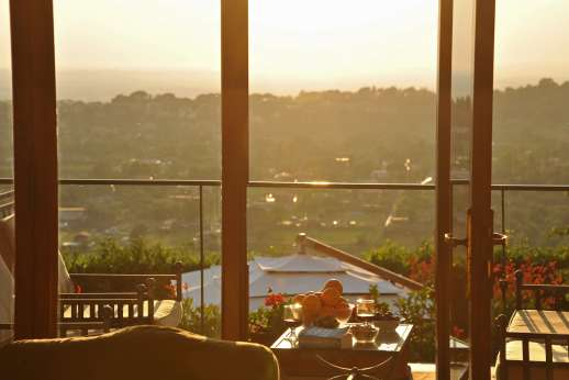 Villa delle Lance - Views form the first floor terrace.