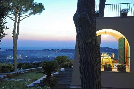Villa delle Lance - View at Villa delle Lance.