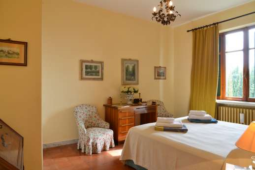 Villa delle Lance - Another view of the bedroom