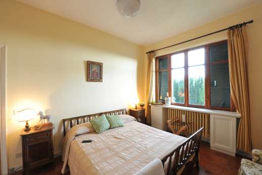 Villa delle Lance - First floor, air conditioned double bedroom.