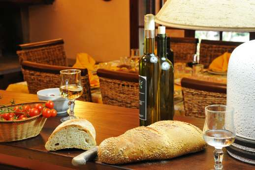 Villa Denise - Organic red and white wines along with olive oil are also produced on the estate which can be purchased locally.
