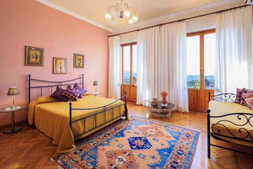 Villa di Bagnolo - All the bedrooms on the first floor are air conditioned.