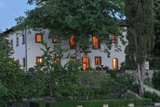 Villa Di Masseto - Villa di Masseto, close to Fiesole, Florence, Tuscany.
