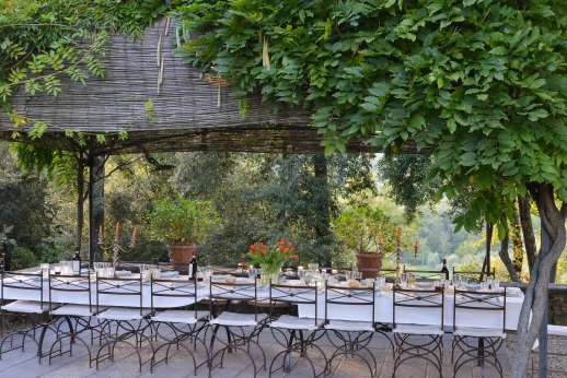 Villa Di Masseto - Plenty of seating for the entire party
