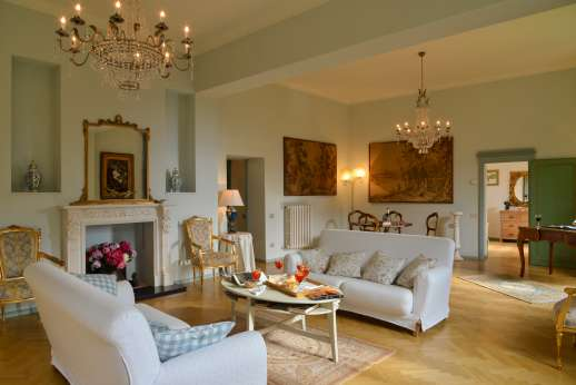 Villa di Pile - First floor sitting room