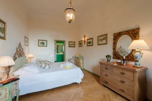 Villa di Pile - Double bedroom on the first floor.