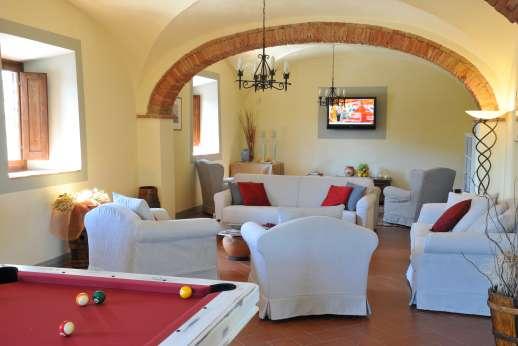 Villa Le Botti - The ground floor sitting room
