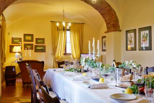 Villa Le Botti - Dining area.