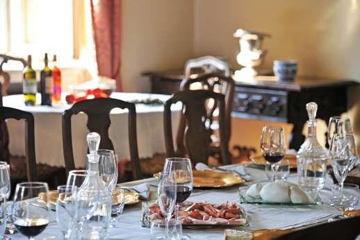 Villa Lungomonte - Dining room.