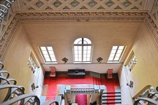 Villa Lungomonte - View down the ancient stairway leads.