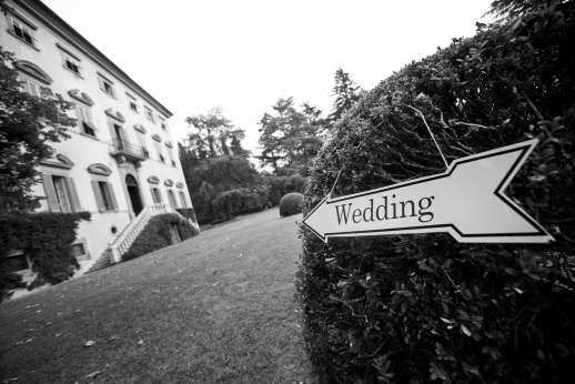 Weddings at Villa Lungomonte - Wedding this way!