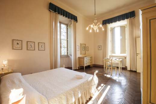 Weddings at Villa Lungomonte - Another of the double bedrooms.