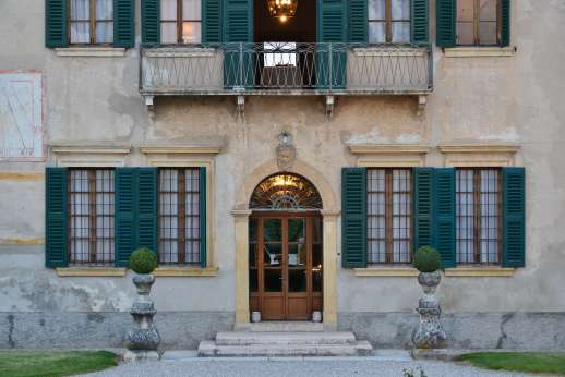 Villa Zambonina - Front facade of the villa