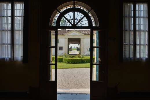 Villa Zambonina - View to the courtyard