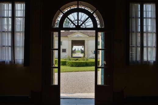 Villa Zambonina - View to the courtyard