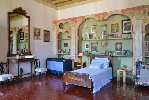 Villa Zambonina - First floor single bedrooms sharing a bathroom with Camera Mamma
