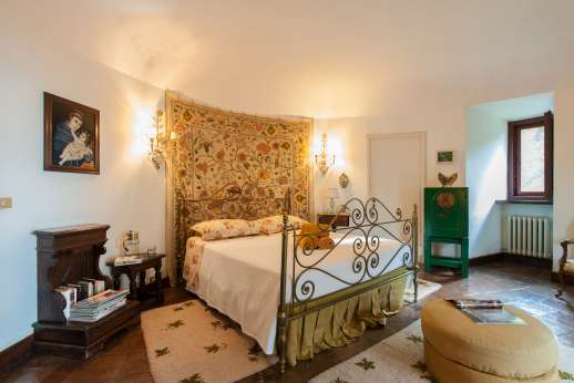 Visentium - Double bedroom.