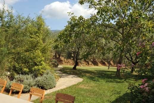 Villa La Nocciolina Casamora - Outdoor dining area.
