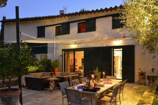 Villa Olmetto - Enjoy your evening outside!