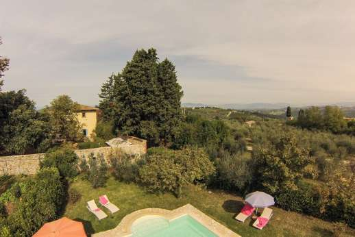 The Estate of Casa Vecchia - Olive groves surrounding the estate