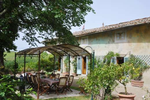 The Estate of Casa Vecchia - Casa Vecchia, 2km/1 mile from San Casciano in Val di Pesa, Florence and its hills. Tuscany.