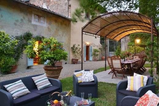 The Estate of Casa Vecchia - And a lounging area.