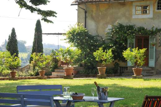 The Estate of Casa Vecchia - Casa Vecchia a charming Renaissance-era manor house near San Casciano.