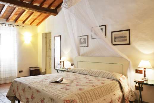 The Estate of Casa Vecchia - Master double bedroom on the first floor.