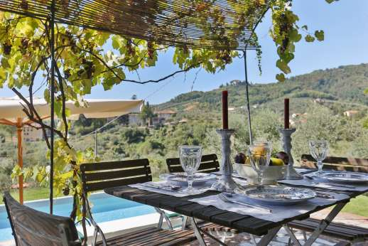 Villa le Cipressae - Spectacular views by the pool