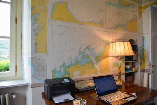 Villa le Cipressae - Another view of the nautical room!