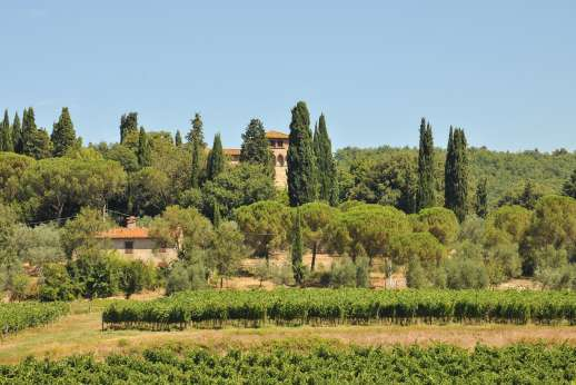 Fonte Petrini - This is beautifully restored medieval castle is dated 10th century