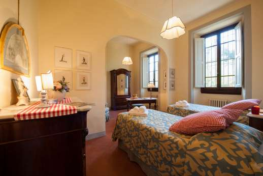 Fonte Petrini - Another view of the first floor twin bedroom
