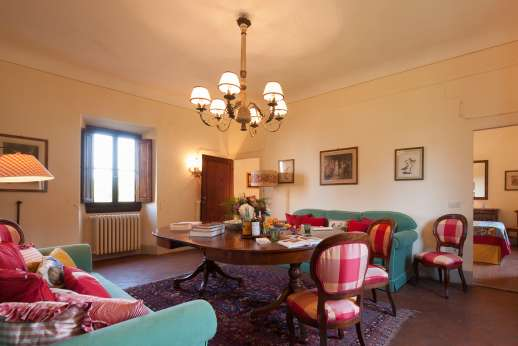 Fonte Petrini - another view of the upper first floor sitting room